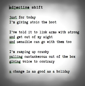 adjective shift