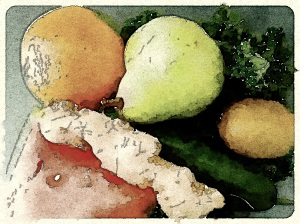 Juicing - Waterlogue and FX Colour Comic